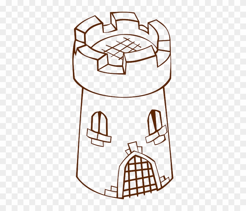 Tower, Gate, Medieval, Middle Age - Tower Clipart #633648