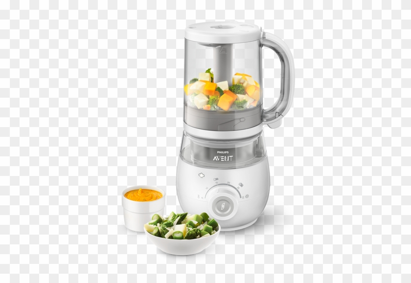 4 In 1 Healthy Baby Food Maker - 4-in-1 Healthy Baby Food Steamer Blender #633933