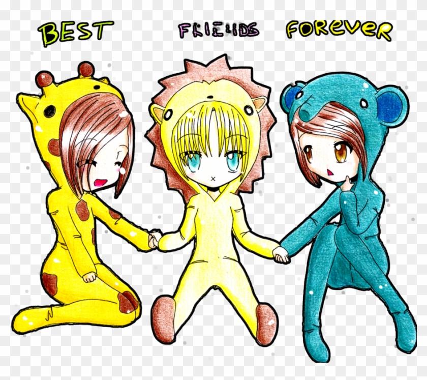 Best Friends Forever Drawing Friendship Clip Art 3 Best Friend