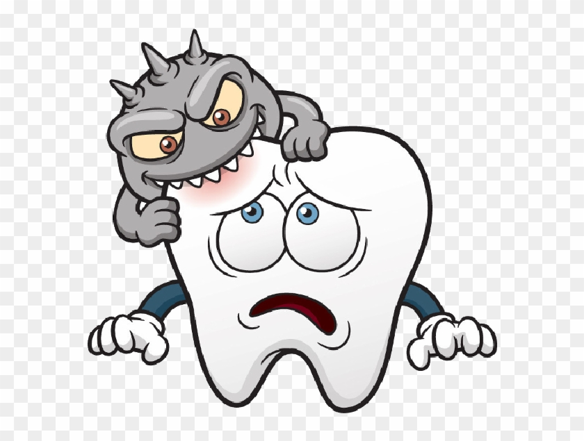 Tooth Clip Art Clipartwiz - Cavity In Teeth Cartoon - Free ...