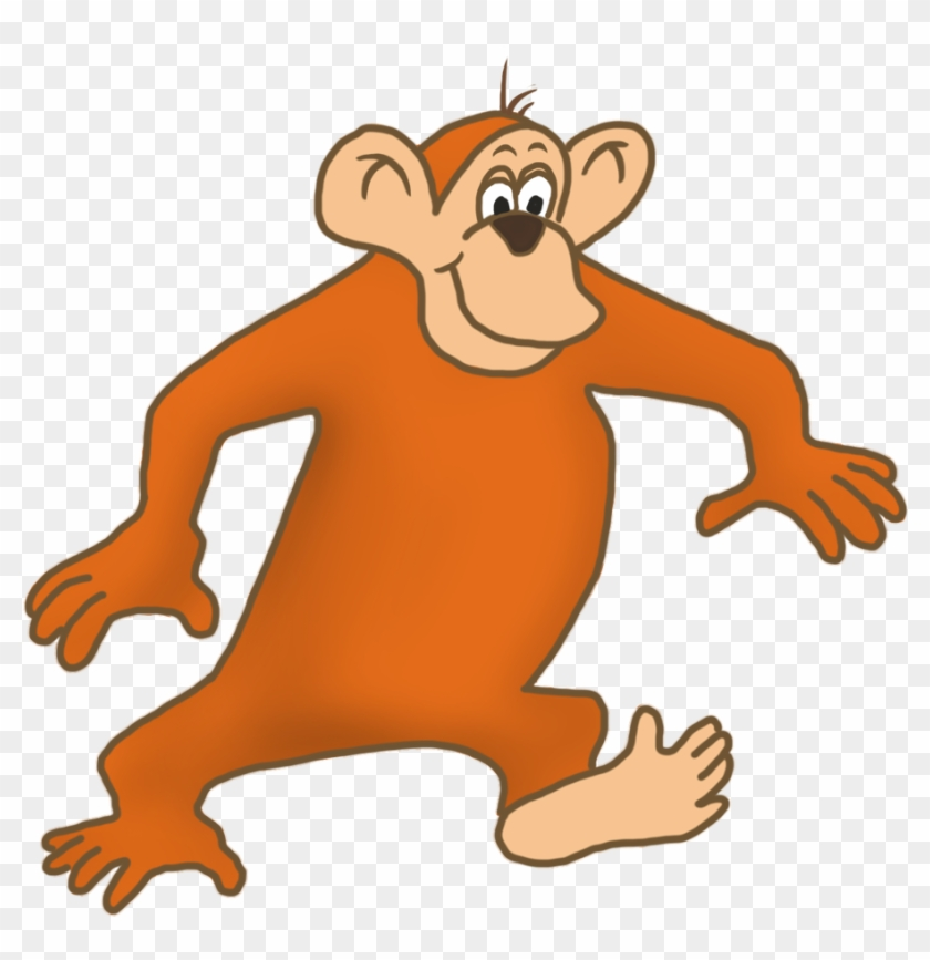 Monkey Clip Art Monkey Drawing Cartoon Monkey Walking Gif Free