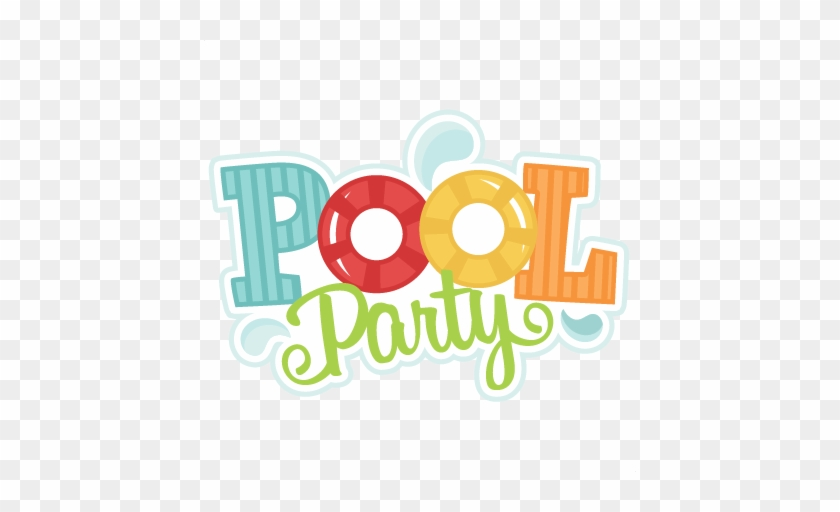 Pool Party Svg Cutting Files Swimming Svg Cut Files - Pool Party Clip Art #112380