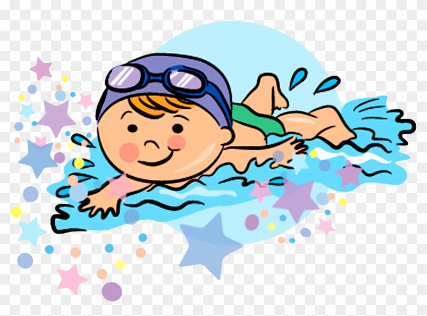 Swimming Drawing Clip Art - Swimming Drawing #112391