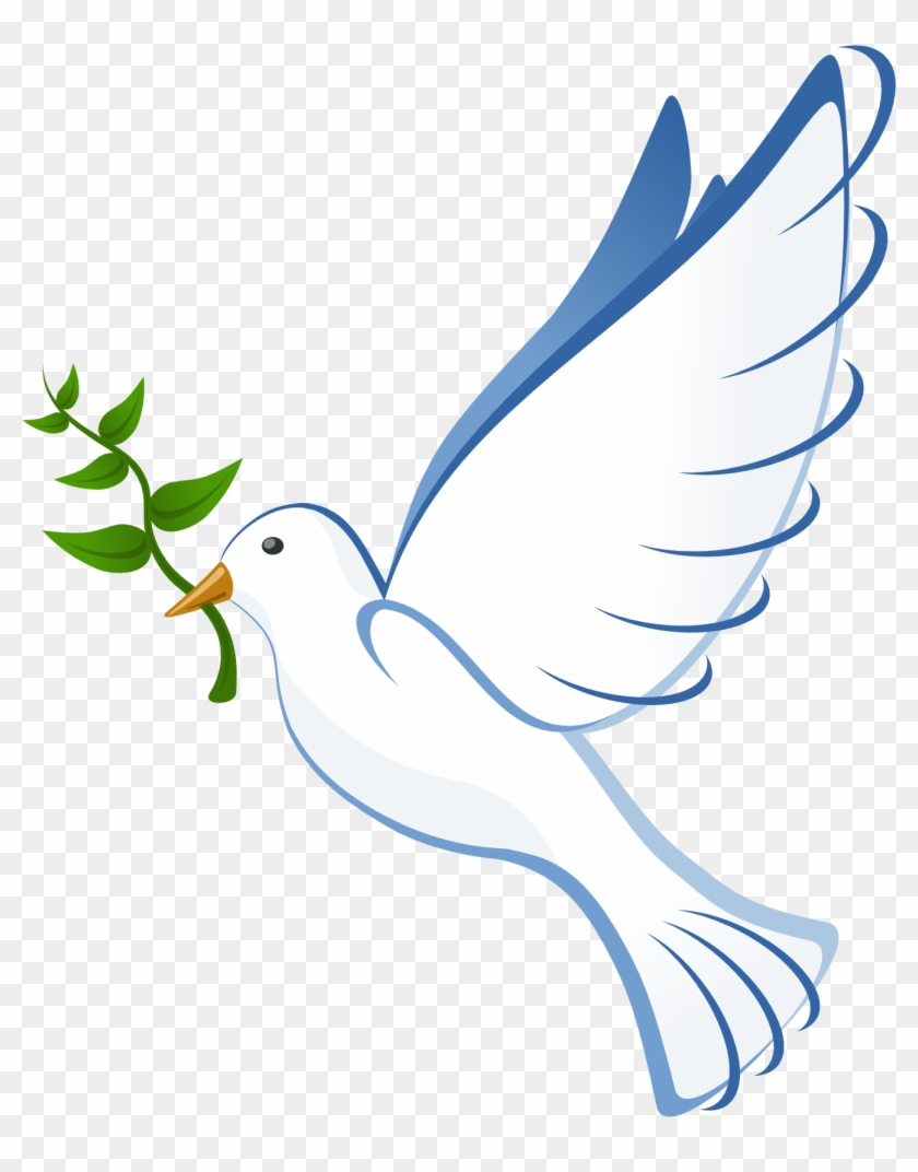 Holy Spirit Dove Clip Art - Peace Dove No Background #112634