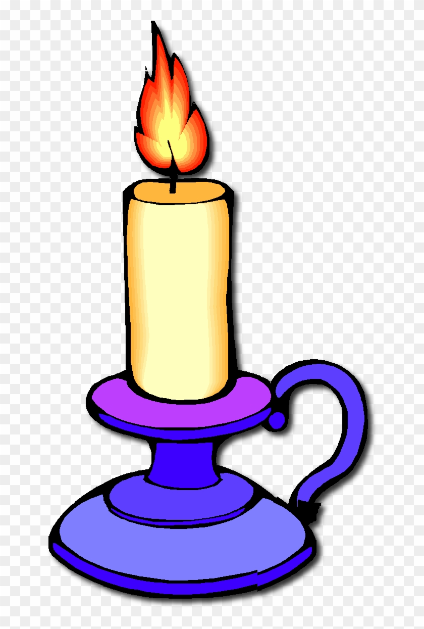Clipart Of A Candle #112672