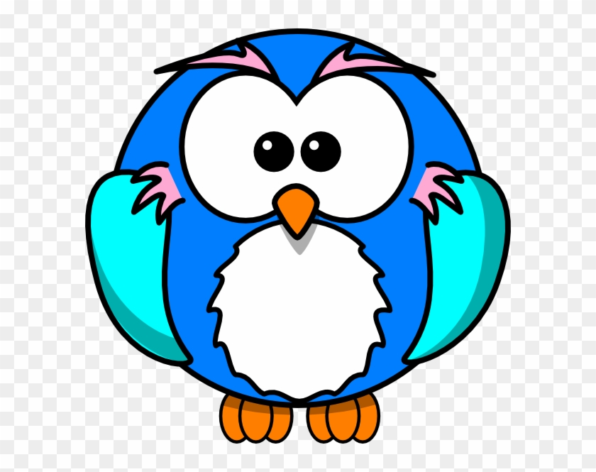 Cute Owl On Branch Clip Art - Cute Owl In Drawing #112753