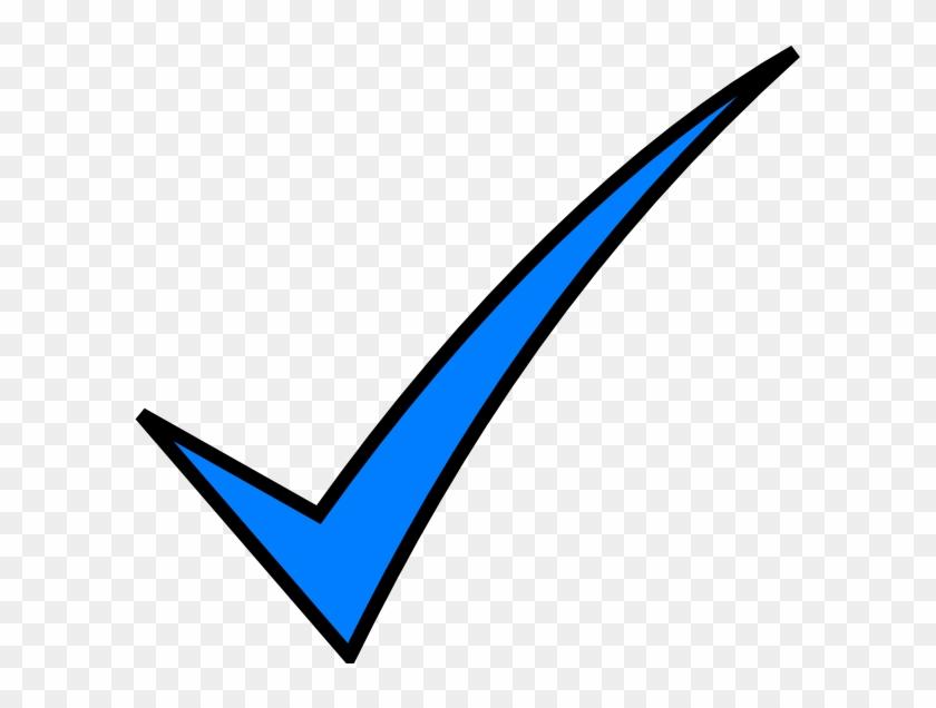 Transparent Check Mark Clip Art - Light Blue Check Mark #112981