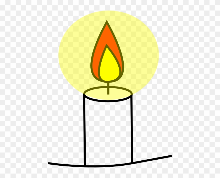 Religious Clipart Candle - Clip Art Candle #113279