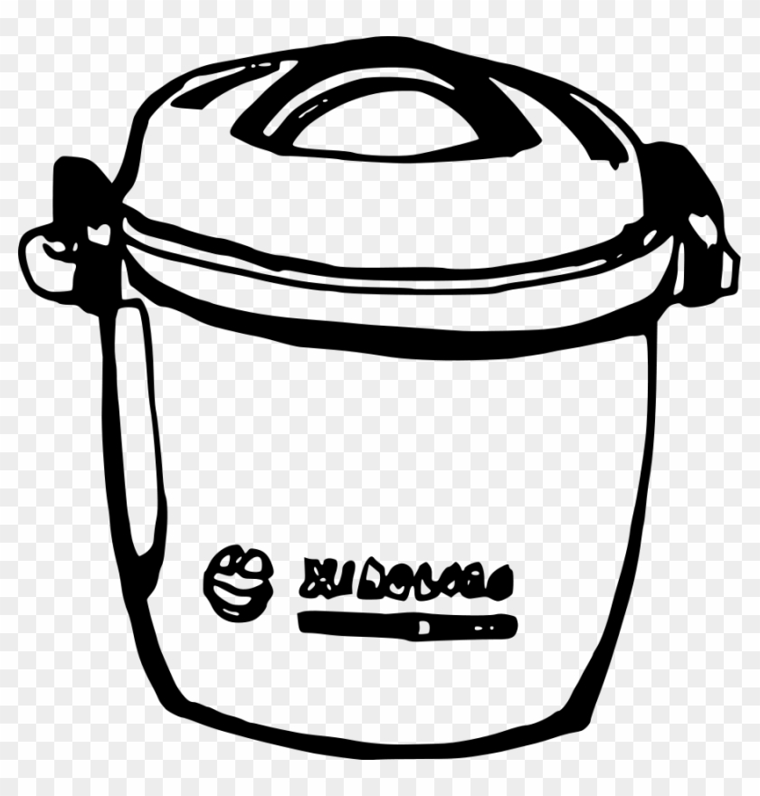 Rice Cooker Clipart Vector Clip Art Online Royalty - Rice Cooker Clipart #113289