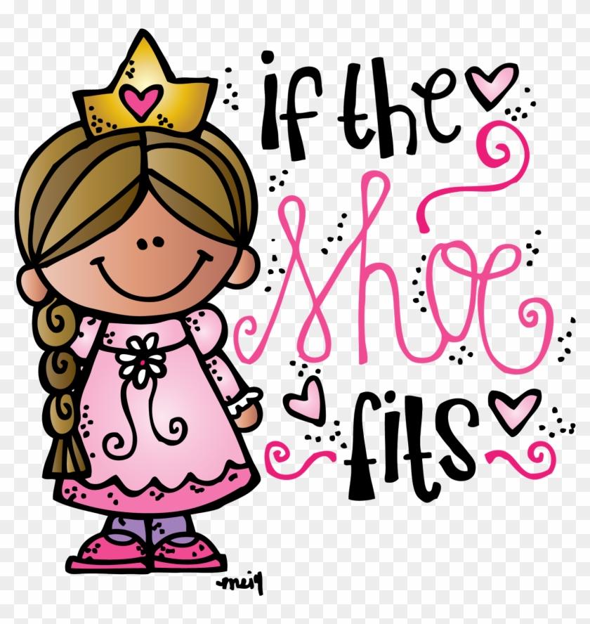 Melonheadz Illustrating If The Shoe Fits Freebie - Melonheadz Princess #113323