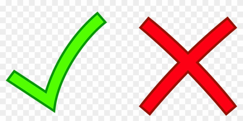 Cross - Check And X Mark #113383