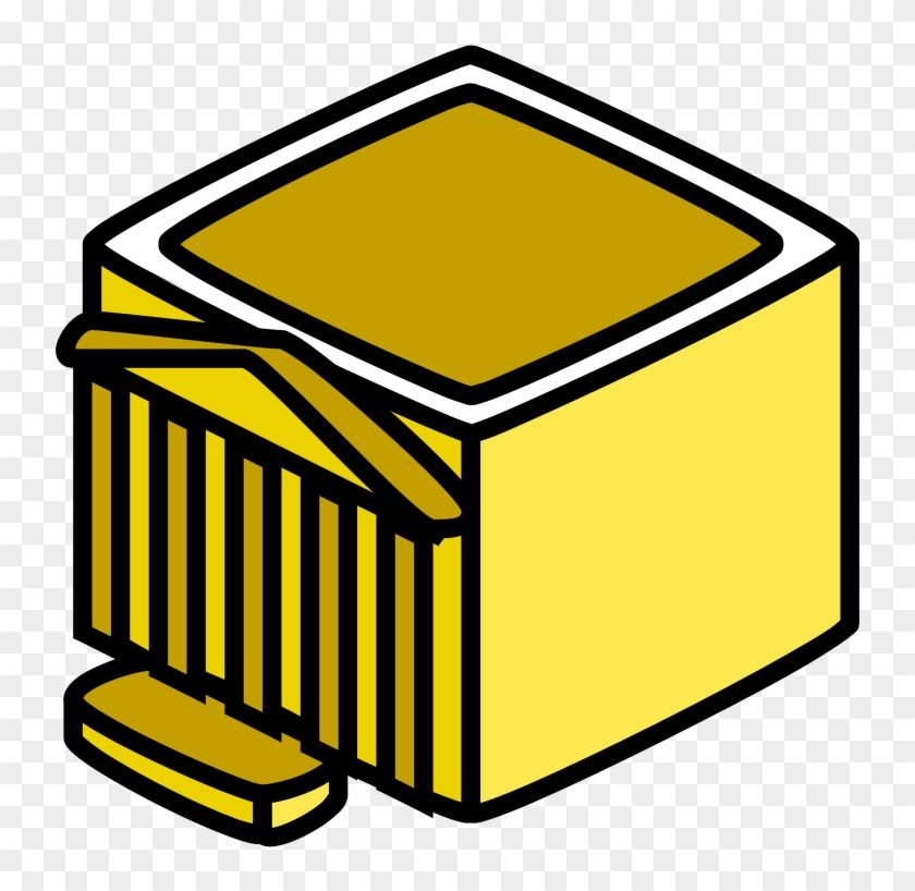 Hardware Building, City, Computer, Yellow, Square, - Administration Clipart #113442