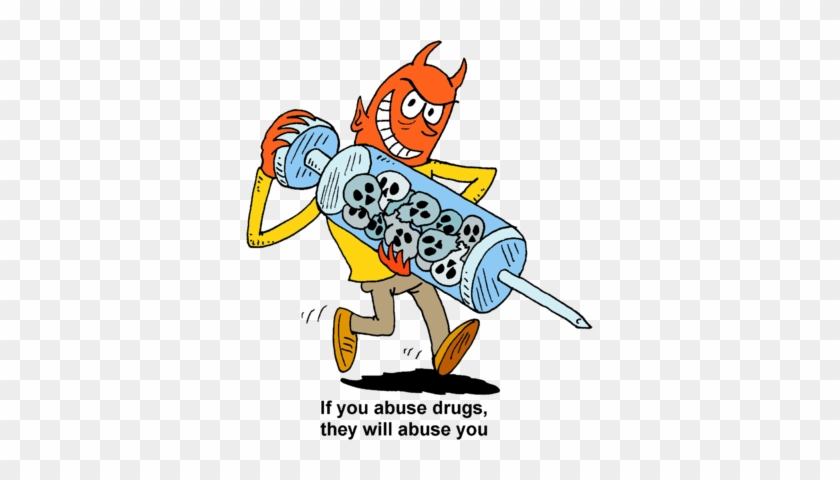 Drug Abuse - Drug Addiction Clipart #113511