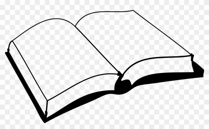 Blank, Book - - Book Black And White #113529