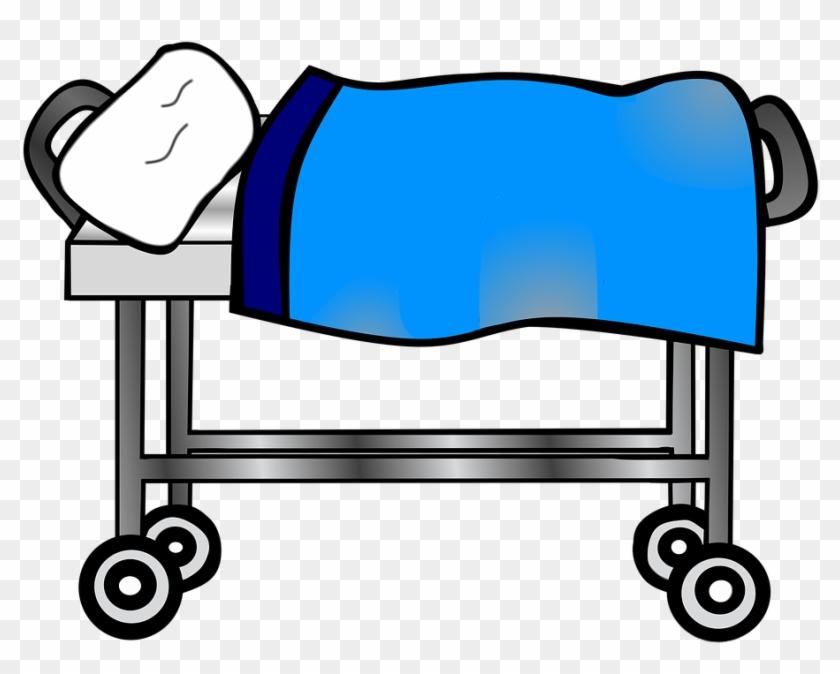Free Illustration Hospital Clip Art Bedside Image On - Hospital Clip Art Png #113535