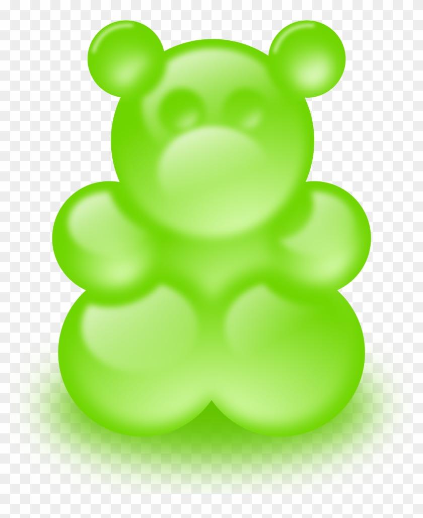 Green Gummy Bear Clip Art - Gummy Bear Clip Art #113566