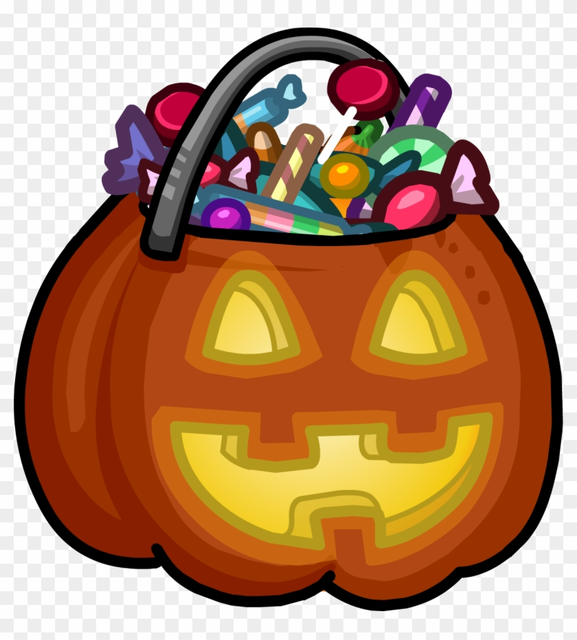 Trunk Or Treat Trick Or Treat Clipart - Trick Or Treat Basket #113698