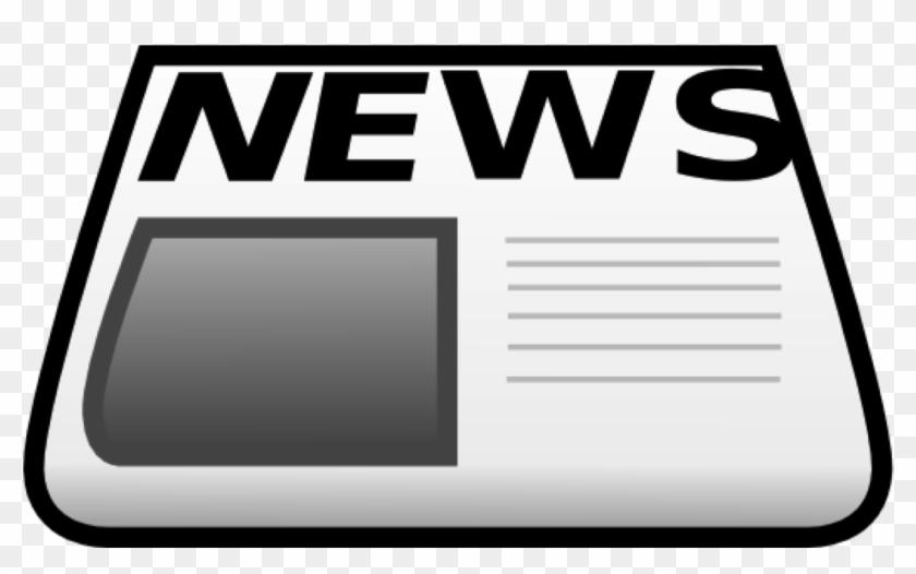 Library News Clip Art - Newspaper Clip Art Png #113700