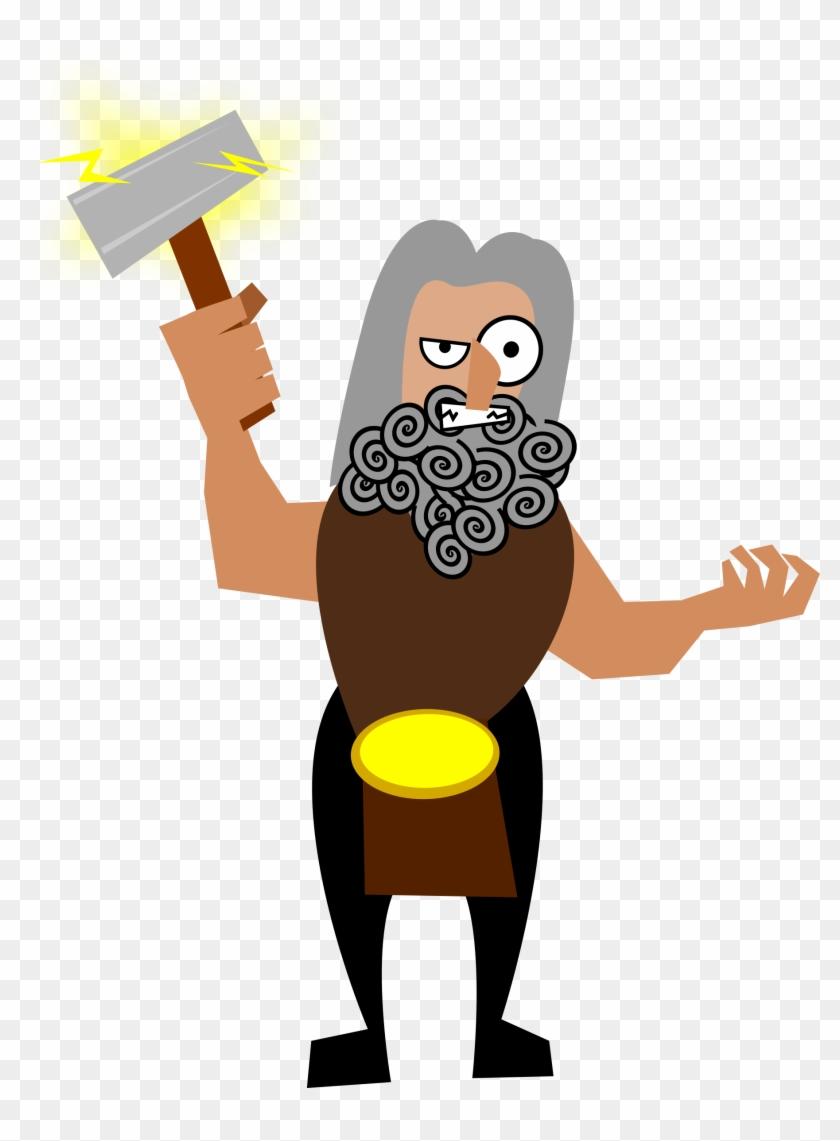 Big Image - Norse Mythology Clip Art #113779