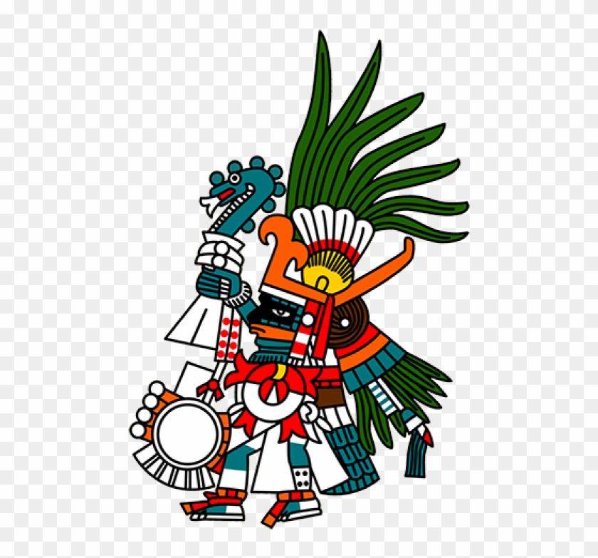 Aztec Warrior Clipart God - Aztec God Of War #113792