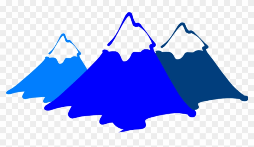 High - Clipart - Mountains Clipart Black And White #113815