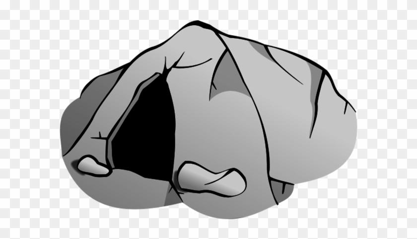 Mountain Cave Clipart - Cave Clip Art #113870