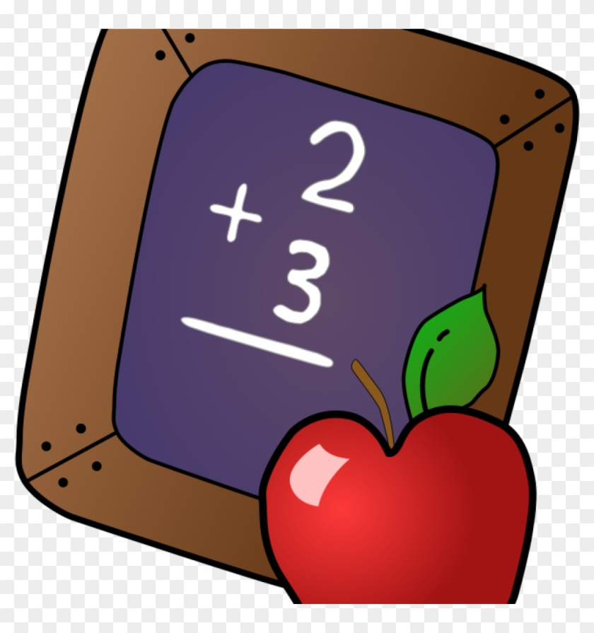 Clipart Back To School Free Back To School Clipart - Apple And Bookclipart #113907
