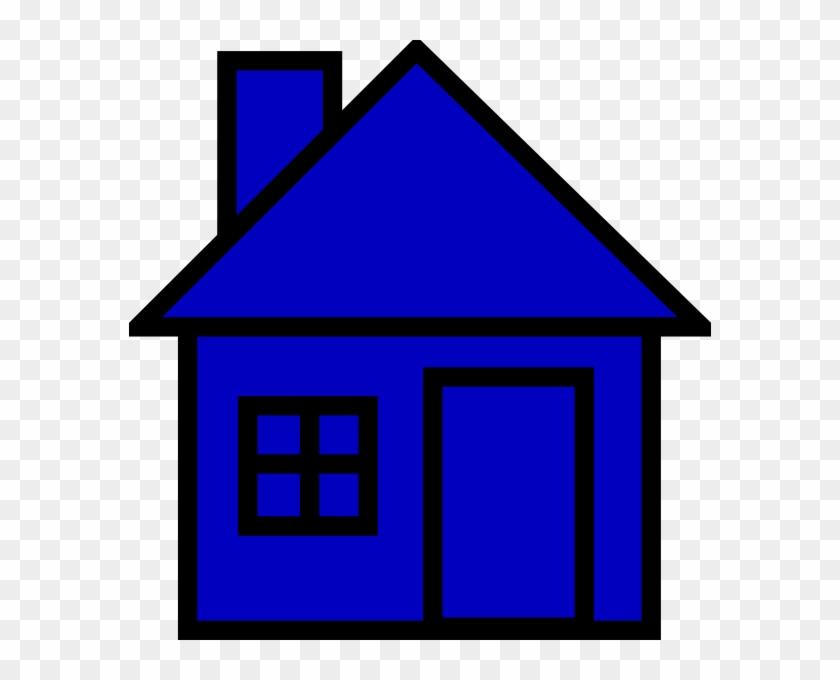 Blue House Clip Art - Blue House Clip Art #113959