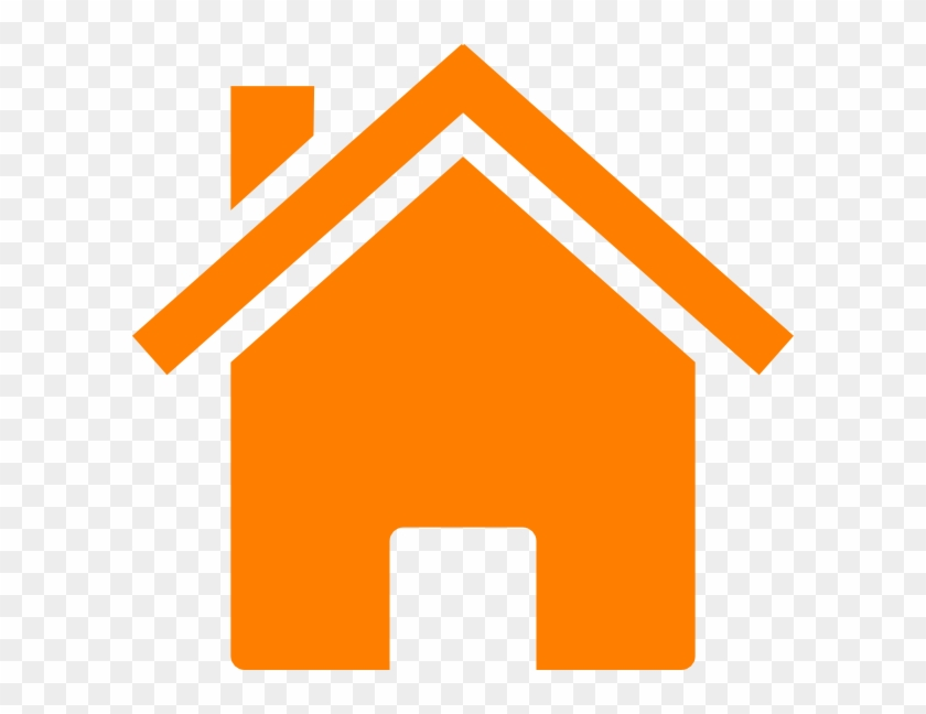 Home Icon Png Orange Free Transparent Png Clipart Images Download