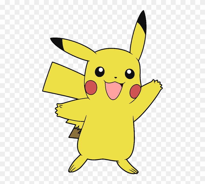 The Following Images Were Colored And Clipped By Cartoon - Pikachu Clip Art #114084