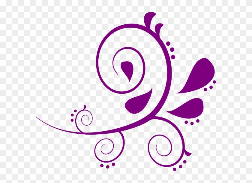 Jumpsuit Clipart Purple Paisley Clipart - Free Paisley Clip Art #114125