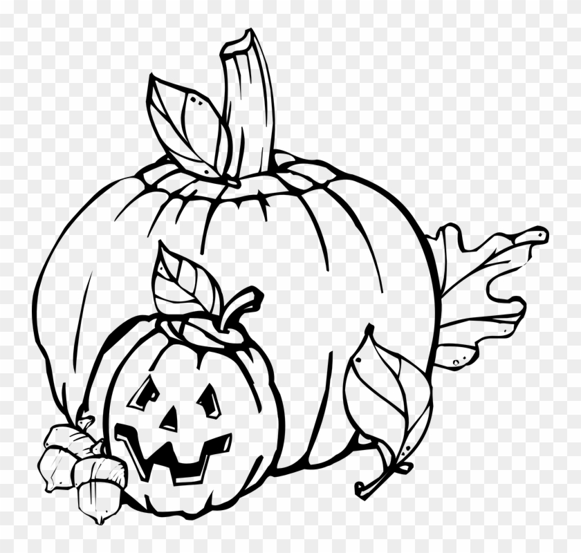 Halloween Clip Art Black And White #114137