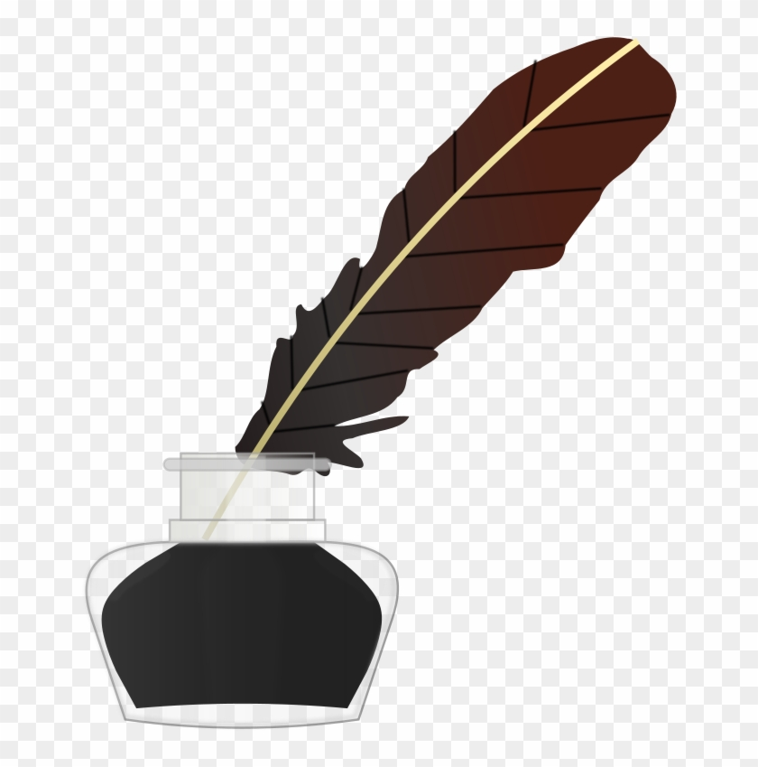 Well Clip Art Download - Feather Ink Pen Png #114210