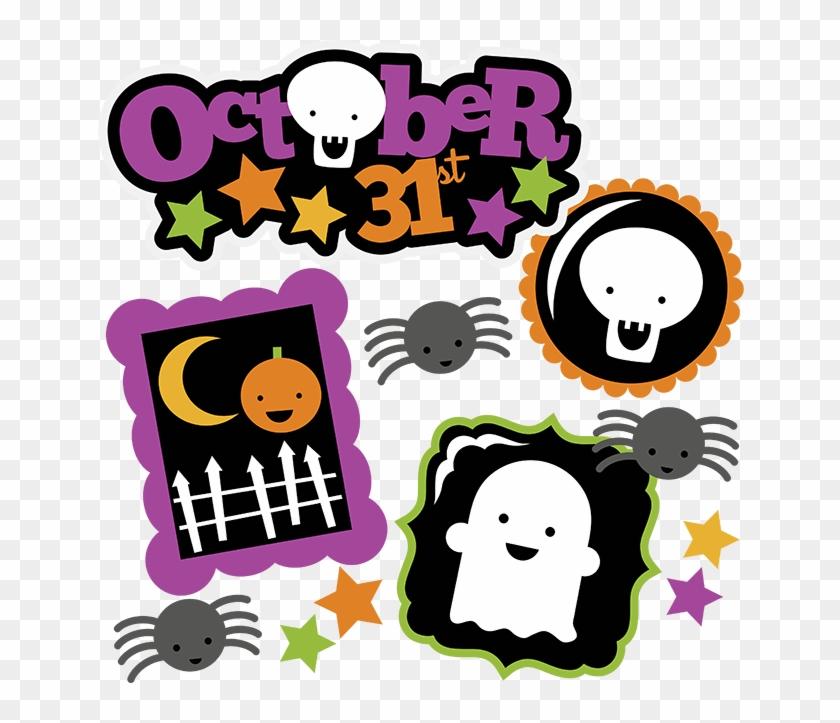 October 31st Svg Halloween Svg File Ghost Svg Pumpkin - Scalable Vector Graphics #114267