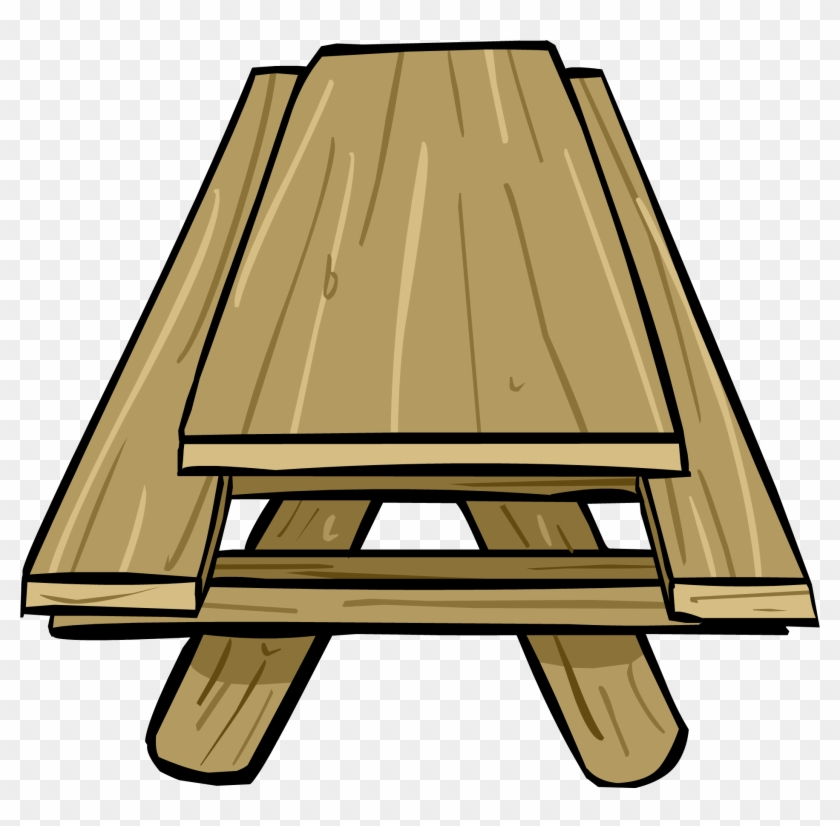 Picnic Table - Picnic Table Png #114304