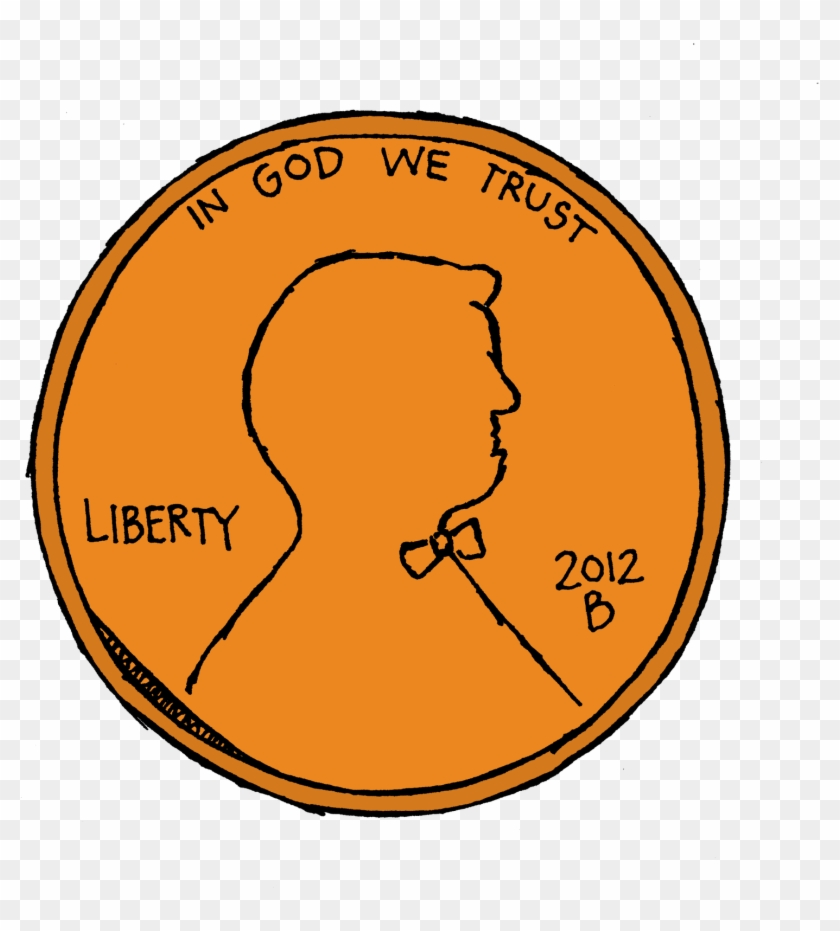Dime Penny Clip Art Image - Penny Clipart No Background #114395