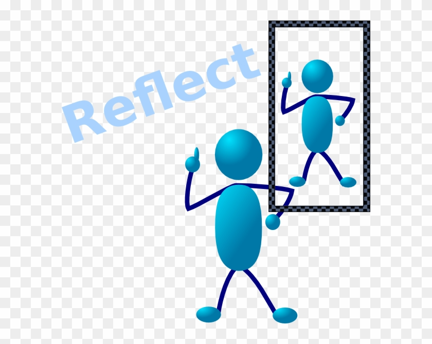 Reflections Clipart - Stick People Clip Art #114487