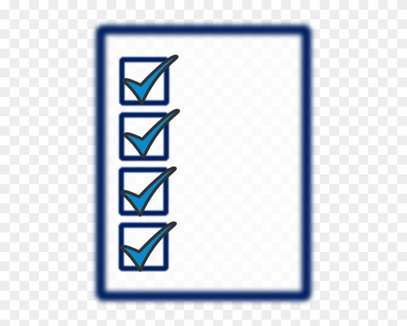 Checklist Clip Art Png #114582