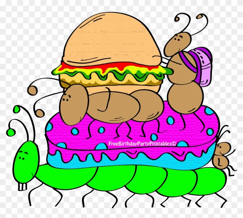 Cracker Clipart Picnic - Birthday #114619