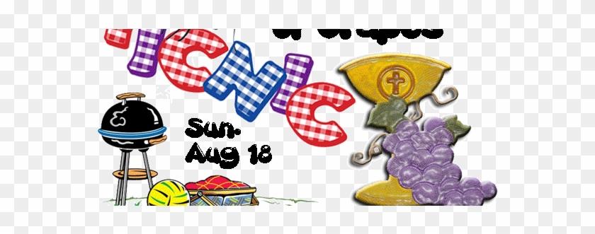 Church - Picnic - Flyer - Church Picnic Clip Art #114630