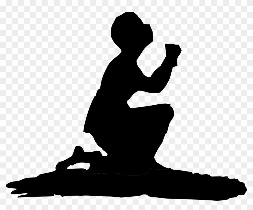 Praying Prayer Kneeling Man Transparent Image Prayer - Cowboy Praying Png #114659