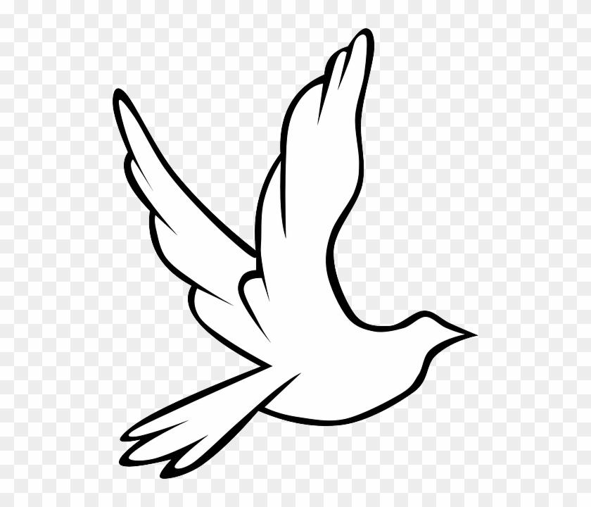 Flying Dove Clip Art Check Out The Immanuel Prayer - Kuş Çizimi #114677