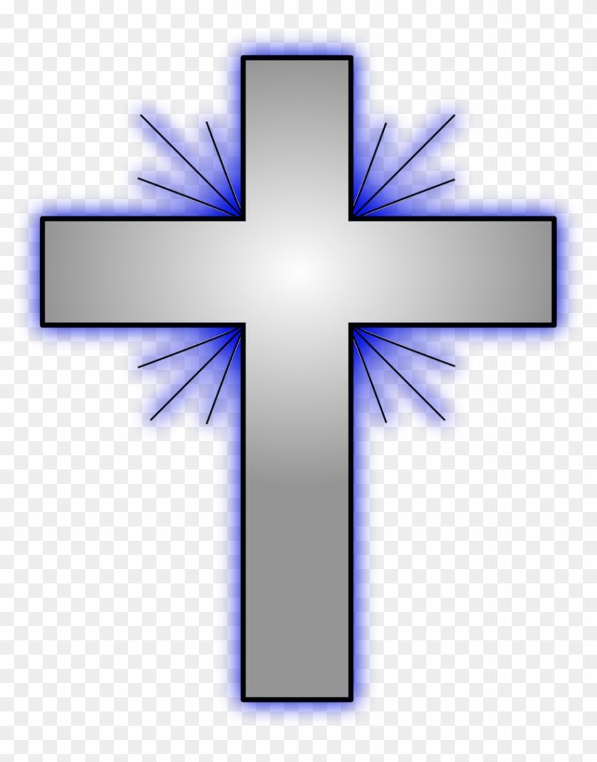 Free Catholic Clipart Backgrounds - Baptism Cross Clip Art #114793