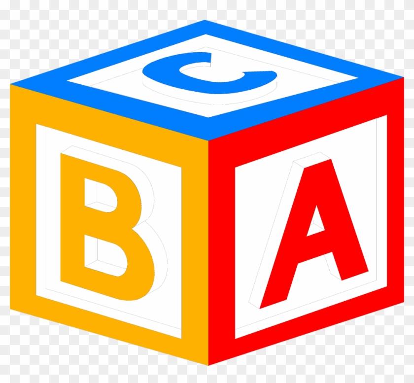 Baby Block Alphabet Letters Clipart - Block Clipart #114847