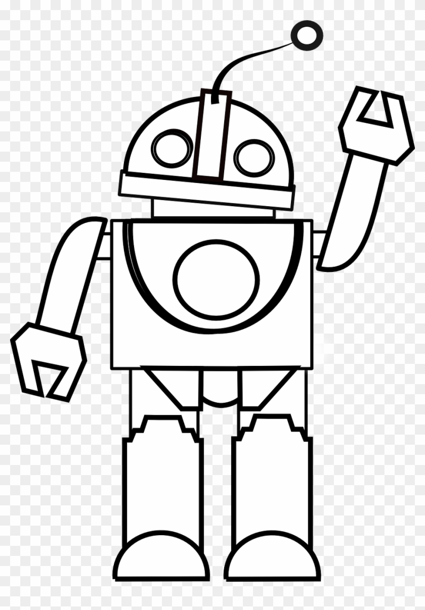 Toy Clipart Black And White Robot Black And White Clipart Free