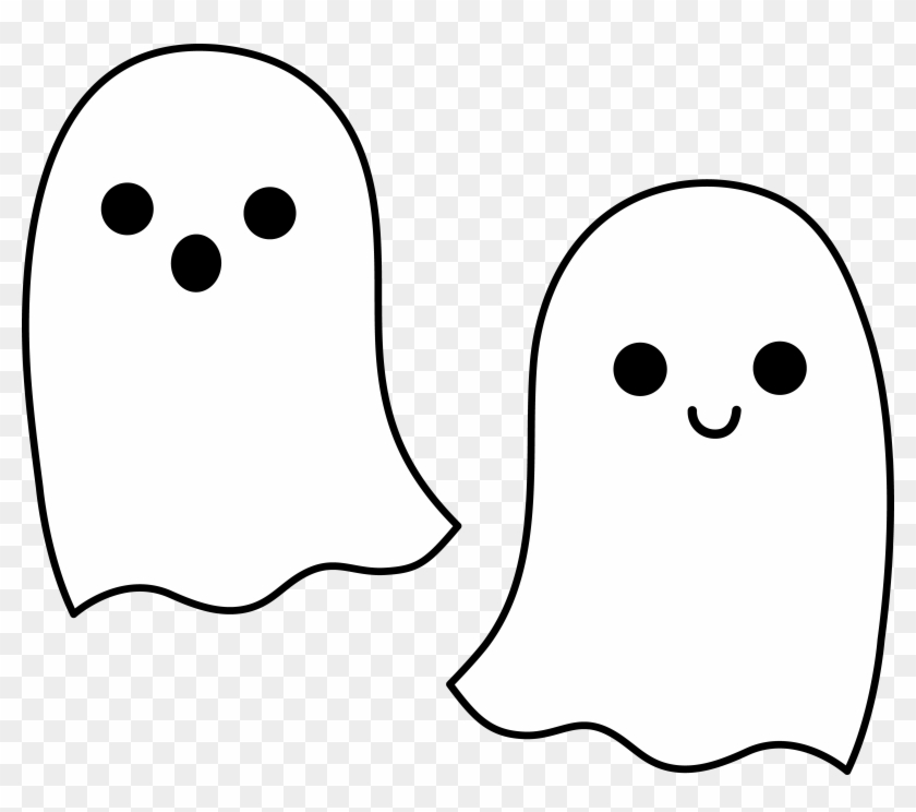 Halloween Ghost Border Clipart - Cute Tapety #115062