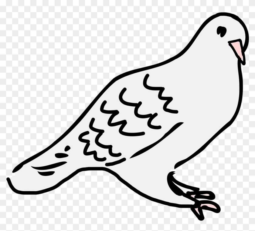 Free Dove Is Sitting - Sitting Dove Clip Art #115129