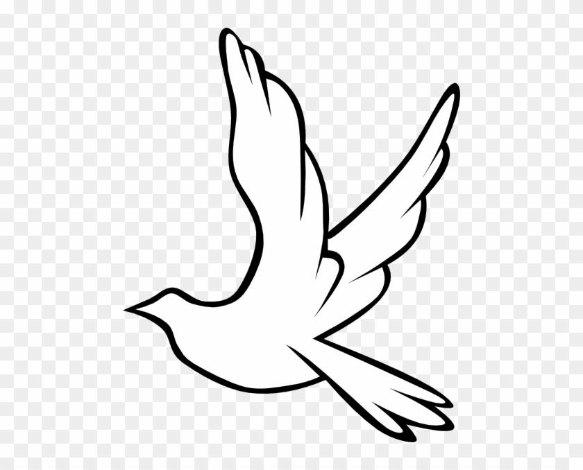 Dove Clip Art - Bird Dove Coloring Pages #115171