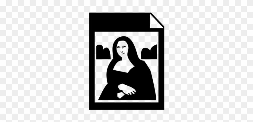 Mona Lisa Clip Art - Artist #115296
