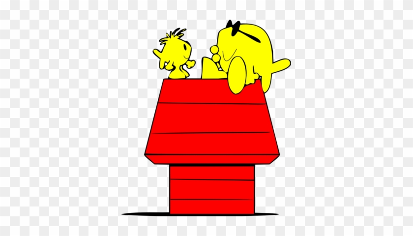 Christian Fish Snoopy - Snoopy On Doghouse Png #115339